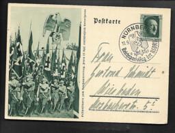 DR GA Hitler Standartenträger / SSt Nürnberg Reichsparteitag - Nach Wiesbaden - Militaria