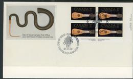 "Canada FDC 1981 ""Look Of Music"" Exibition - Cartas"