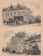02 Origny Sainte Benoite, Carte Publicitaire Double, Epicerie  Centrale Wiart, - Altri Comuni
