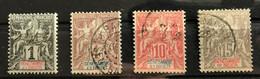 SENEGAMBIE NIGER 1903 - LOT YT 1 */MH + YT 3 - 5 - 6 Oblitérés - RARE - CV 31 EUR - Unclassified