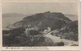 MACAU 1920 Santa Sancha Homestead - Real Photo - China
