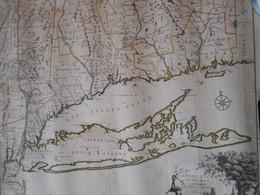 Carte Connecticut 1780 - Geographische Kaarten