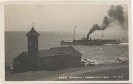 BORDIGHERA 1925 Passare D'un Vapore - Steamship - Otras Ciudades