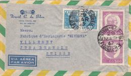 BRESIL : Divers Sur Lettre De Rio De Janeiro Pour La Suisse 1947 - Cartas