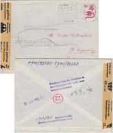 """BRD - Regensburg 1973 Brief N. München """"Amtlich Geöffnet OPD München"""" - Cartas"""