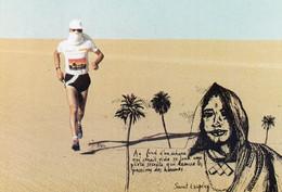 CLB - ATHLETISME - CPM - PARIS GAO DAKAR EN COURSE A PIED - UNE COURSE FOLLE DE 8000 KM - 22/12/87 - 21/01/88 - Athletics