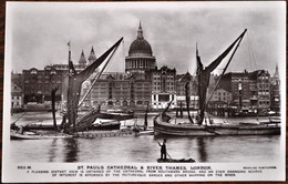 LONDON/LONDRES - St. Paul's Cathedral & River Thames - St. Paul's Cathedral