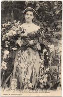 CPA Bretagne. 261. Avec Ces Fleurs, Mes Souhaits Les Plus Ardents - Coll. H. Laurent - Vestuarios