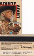 "FRANCE - Buffalo Bill""s Wild West Show, Disneyland Paris Passport(reverse Disney-Euro Disney C), Used - Pasaportes Disney"