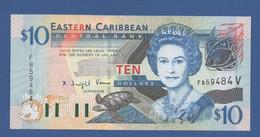 EAST CARIBBEAN STATES - P.43V – 10 Dollars2003 - UNC - Caraibi Orientale