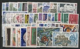 FRANCE ANNEE COMPLETE 1976 COTE = 43 € Neufs ** (MNH) Soit 52 Timbres (vendus à La Valeur Faciale 9,60 €). TB - 1970-1979