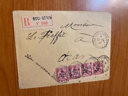 Lettre R De 1917  - De Bou Denis ( Maroc) Pour Le Préfet D'Oran - Brieven En Documenten