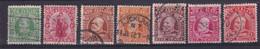 NEW ZEALAND - 1909 - YVERT N°135+136+138+139+140+141+143 OBLITERES - COTE = 17.5 EUR. - - Used Stamps
