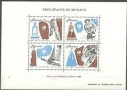 PMo  - MONACO BF N°42** Année 1988 (cote 12.50) - Blocks & Sheetlets