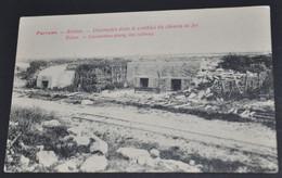 Pervyse - Ruines - Casemates Dans Le Remblai Du Chemin De Fer - Diksmuide