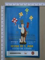 PORTUGAL - FESTAS DE S. JOÃO -  BRAGA -   2 SCANS   - (Nº40589) - Braga