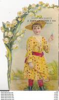 CHROMOS. Vins Mousseux J. LORRAIN NEVEU & Cie.  Jeune Femme Jouant Au Volant, Muguet. ...T761 - Otros