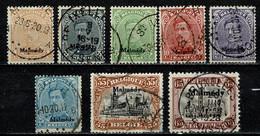 Belg. 1920 Malmédy OBP/COB OC 62, 64, 65, 66, 67, 69, 71, 74 Gest./obl. - [OC55/105] Eupen/Malmedy