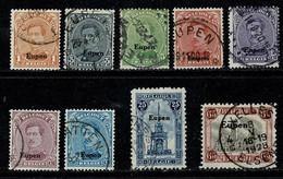Belg. 1920 Eupen OBP/COB OC 84, 86, 87, 88, 89, 90, 91, 92, 96 Gest./obl.(2 Scans) - [OC55/105] Eupen/Malmedy