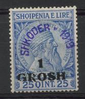Albanie (1919) N 78A (charniere) - Albania