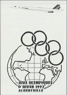 France Postcard 1992 Albertville Olympic Games - Mint (G125-11) - Inverno1992: Albertville