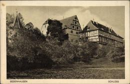 CPA Bebenhausen Tübingen Am Neckar Bade Württemberg, Schloss - Otros