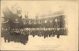 CPA Paris Frankreich, Funerailles De Felix Faure A L'Elysee, Depart Du Cortege - Other