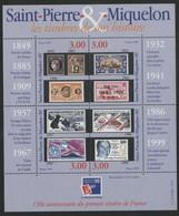 SAINT PIERRE ET MIQUELON BLOC FEUILLET N° 6 Neuf ** PHILEXFRANCE 1999 Vendu à La Valeur Faciale 12 Fr = 1,72 € TB - Blocks & Sheetlets