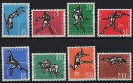 YUGOSLAVIA 1962 European Athletics Championships, Belgrade MNH - Nuovi
