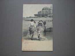 OSTENDE - SUR LA PLAGE - CASINO - A. SUGG SERIE 7 N° 58 - Oostende