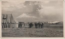 Italy Postcard Aviation With Vesuvius 1944 - Zonder Classificatie