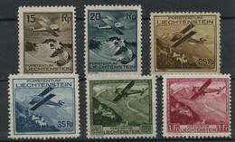 Liechtenstein (1930) PA N 1 A 6 (charniere) - Ongebruikt