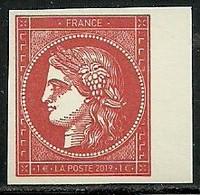 France 2019 - Cérès Rouge Issue Du Bloc Inséré Dans Le Livre Du Salon D'automne - Unused Stamps