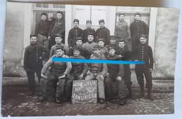 1906 Rennes Armuriers 75 Eme Régiment D'infanterie Territoriale RIT Poilu Tranchée Ww1 14-18 - Guerra, Militari