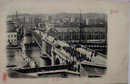 Brest - Le Pont - Moka Williot (au Dos De La Carte) - Brest