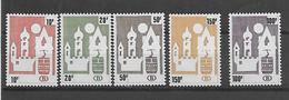 België  Spoor   N° 461/465 Xx Postfris Uitgifte Prijs(facial) -50% - 1952-....