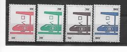 België  Spoor   N° 455/458 Xx Postfris - 1952-....