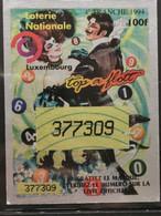 Luxembourg, Loterie Nationale 1994 - Biglietti Della Lotteria