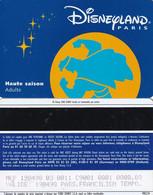 FRANCE - Disneyland Paris Passport(reverse Disney-Euro Disney, Black Strip), 02/98, Used - Pasaportes Disney