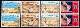 Oman Sultanate Mascate 088/91 Pétrole, Satellite Gemini, Vue Aérienne - Oil