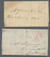 """Vereinigte Staaten Von Amerika - Vorphila / Stampless Covers: 1822-1845, Ein Vorphilabrief Aus """"Cool - …-1845 Vorphilatelie"""