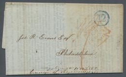 Vereinigte Staaten Von Amerika - Vorphila / Stampless Covers: 1847, Vollständiger Geschäftsbrief Aus - …-1845 Vorphilatelie