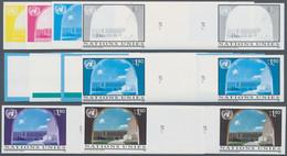 Vereinte Nationen - Genf: 1994, Freimarke 1.80 Fr. 'Palais Des Nations In Genf' In Zehn Verschiedene - Nuevos