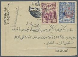Zypern - Besonderheiten: 1917, Postkarte An Einen Türkischen Kriegsgefangenen Auf Zypern, Frankiert - Otros