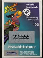 Luxembourg, Loterie Nationale 1996 - Biglietti Della Lotteria
