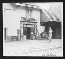 2015  --  CENSEAU . JURA . BOULANGERIE CAFE BOUILLERET . 3U838 - Sin Clasificación