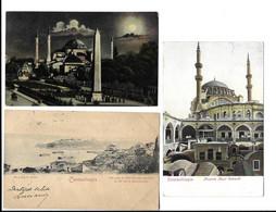 COSTANTINOPLE , 6 OLD POSTCARDS . - Turkije