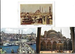 ISTANBUL , 6  POSTCARDS . - Turkije
