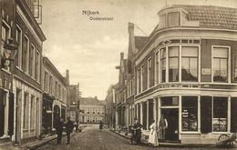 Nederland, NIJKERK, Oosterstraat, Kruidenier, Kapper (1916) Ansichtkaart - Autres