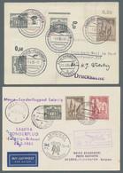 Berlin: 1953-1955, Partie Von 17 Belegen Mit Frankaturen Der Mi.Nr. 106 Oder 108 (Gedächtniskirche). - Cartas
